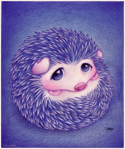 colored pencils, illustration, and cute image