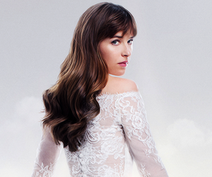 wedding, white, and fifty shades freed image