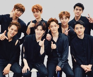 exo, Chen, and sehun image