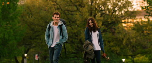 lily collins, love rosie, and movie image