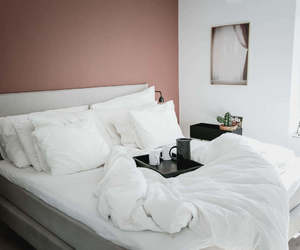 bedding, bedroom, and home image