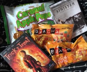 Halloween, movies, and treat image