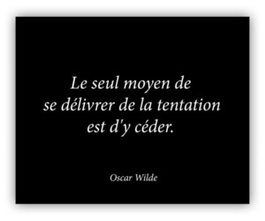 french, oscar wilde, and citation image