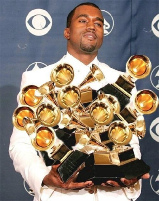 grammys, pablo, and yezzy image