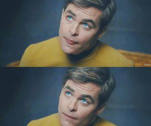 chris pine and star trek image
