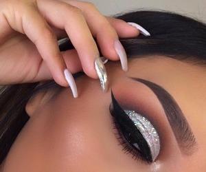 beauty, black, and eyes image