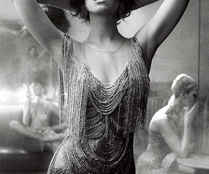 katy perry, black and white, and vintage image