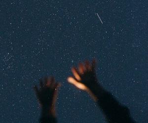 stars, night, and tumblr image
