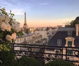 paris, landscape, and romantic image
