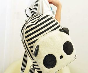 panda, fashion, and cute image