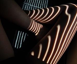 legs, light, and grunge image