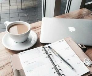 coffee, study, and school image