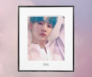 bts, min yoongi, and love yourself image