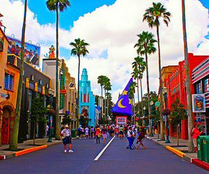 colors, disney, and summer image