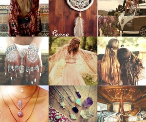 crystals, hippie, and hipster image