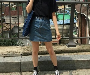 aesthetic, fashion, and korean image