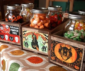 Halloween, candy, and autumn image