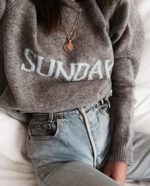 fashion, Sunday, and style image
