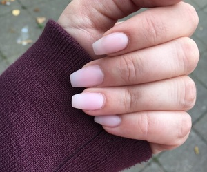fall, nails, and happy image