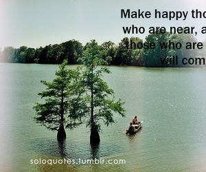 come, far, and happy image