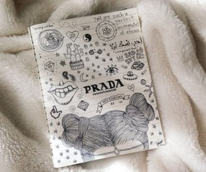 Prada, drawing, and tumblr image