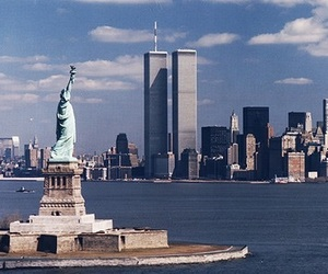 9 11, new york, and world trade center image