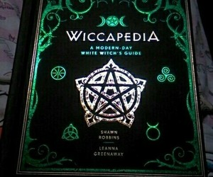 book, witch, and wicca image