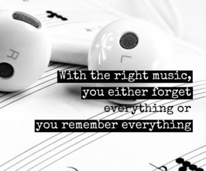 music, earphones, and easel image