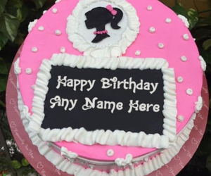 name birthday cakes, name on cakes, and birthday cake with name image