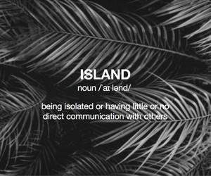 definition, dictionary, and Island image