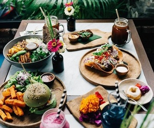 food, breakfast, and drink image