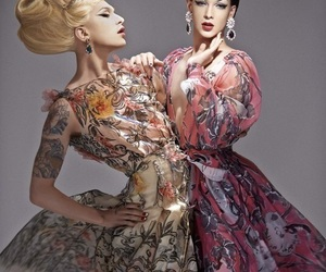 drag, fashion, and Queen image