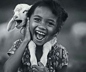 girl and happy image