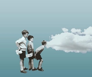kids and sky image