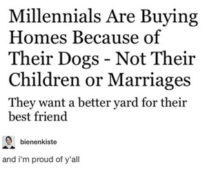 children, debt, and dogs image