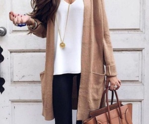 accessories, autumn, and cardigan image