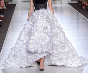 bridal, catwalk, and Couture image