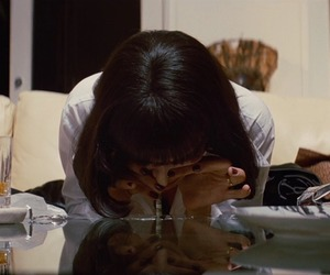 pulp fiction, cocaine, and gif image