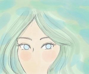 digital art and watercolor image