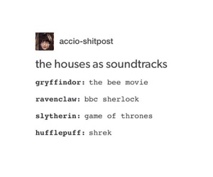 harry potter, textpost, and tumblr image
