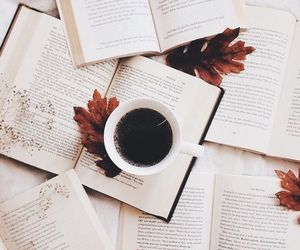 autumn, cozy, and books image