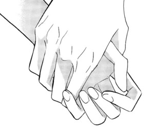 hands and shoujo image
