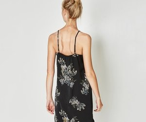 black, dress, and style image