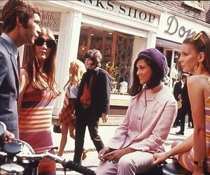 fashion, 60s, and london image