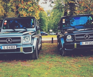 cars, gla, and mercedes g image