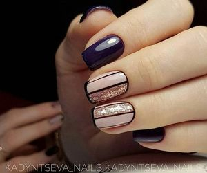 black, fashion, and nails image