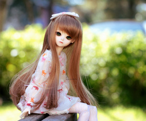 bjd, cute, and doll image