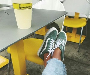 vans, shoes, and lemonade image