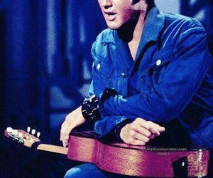 elvis, Elvis Presley, and king of rock image