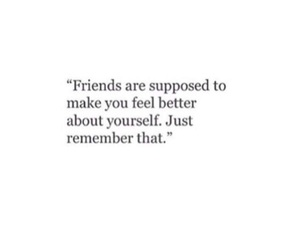 quotes, friends, and words image